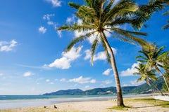Praia bonita de Patong, ilha de Phuket, Tailândia Fotos de Stock