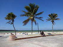 Praia bonita de Progresso foto de stock royalty free