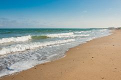 Praia bonita do mar Imagens de Stock Royalty Free