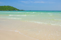 Praia bonita do quoc de Phu Imagens de Stock Royalty Free