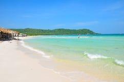 Praia bonita do quoc de Phu Foto de Stock Royalty Free