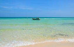 Praia bonita do quoc de Phu Fotografia de Stock