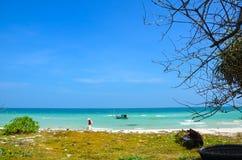 Praia bonita do quoc de Phu Fotos de Stock