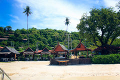 Praia bonita em Krabi Fotos de Stock Royalty Free