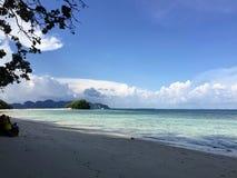 Praia bonita fotos de stock