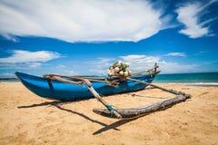 Praia bonita em Sri Lanka Fotos de Stock