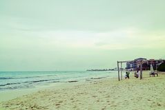 Praia bonita, Maya riviera Fotos de Stock Royalty Free