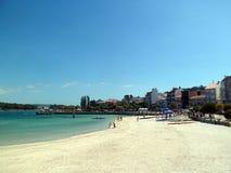 Praia bonita na Espanha sul foto de stock royalty free