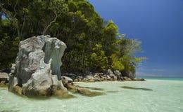 Praia bonita na ilha de Surin, Tailândia Foto de Stock Royalty Free