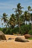 Praia bonita no console Foto de Stock