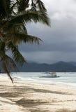 Praia branca foto de stock