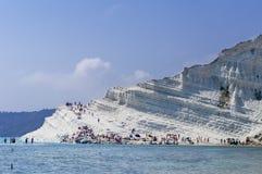 Praia branca imagem de stock royalty free