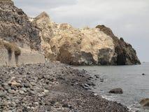 Praia branca Fotografia de Stock