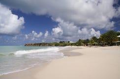 Praia branca Foto de Stock Royalty Free