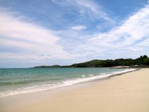 Praia branca no Koh Samed, Tailândia Fotografia de Stock Royalty Free
