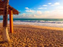 Praia Brasil da ressaca Fotografia de Stock Royalty Free