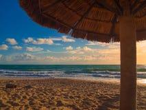 Praia Brasil da ressaca Imagens de Stock Royalty Free