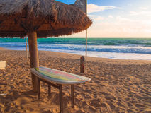 Praia Brasil da ressaca Fotos de Stock