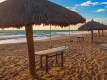 Praia Brasil da ressaca Fotos de Stock Royalty Free