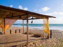 Praia Brasil da ressaca Fotografia de Stock