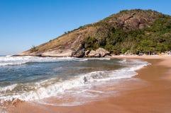 Praia brasileira tropical Imagens de Stock Royalty Free