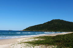 Praia Brava - Florianópolis, Santa Catarina - Brasil. Beautiful and paradisiacal beach resort on the enchanting island of Florianópolis, the state capital of Stock Photo