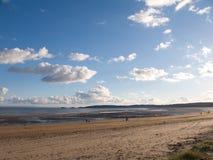 Praia britânica Foto de Stock