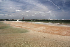 Praia cénico Fotografia de Stock