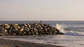 Praia Califórnia de Ponto Imagem de Stock