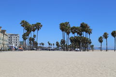 Praia Califórnia de Veneza Imagem de Stock Royalty Free