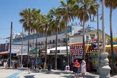 Praia Califórnia de Veneza Imagens de Stock Royalty Free
