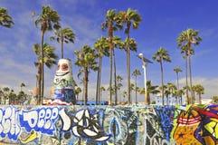 Praia Califórnia de Veneza, EUA Imagem de Stock