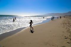 Praia Califórnia de Zuma Fotografia de Stock