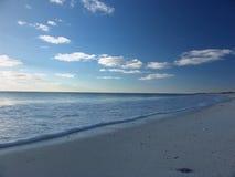 Praia calma Fotos de Stock