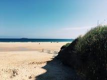 Praia calma quente Fotografia de Stock Royalty Free