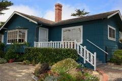 Praia Carmel home, Califórnia foto de stock royalty free