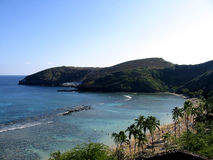 Praia celestial imagem de stock royalty free