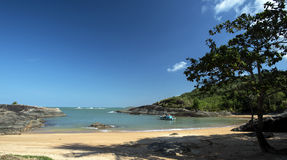 Praia celestial Imagem de Stock