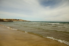 Praia celestial Fotografia de Stock
