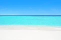 Praia celestial Imagens de Stock