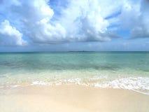Praia chave Imagens de Stock Royalty Free