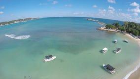 Praia cingalesa bonita Foto de Stock