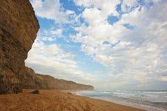 Praia Cliff Face Fotografia de Stock Royalty Free