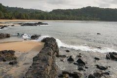 Praia Coco, Sao wolumin i Principe, Afryka Zdjęcia Stock