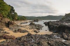 Praia Coco, Sao wolumin i Principe, Afryka Fotografia Stock