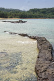 Praia Coco, Sao wolumin i Principe, Afryka Obrazy Royalty Free