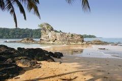 Praia Coco, Sao wolumin i Principe, Afryka Zdjęcie Royalty Free