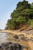 Praia Coco, Sao wolumin i Principe, Afryka Zdjęcia Royalty Free