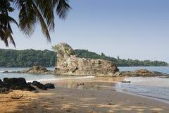 Praia Coco, Sao wolumin i Principe, Afryka Obraz Royalty Free