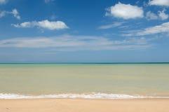 Praia colombiana Foto de Stock